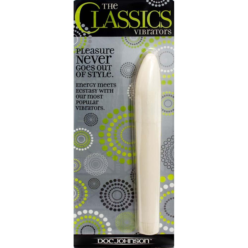 "Maxi Slim Mystique Vibrator 7"" White - View #2"
