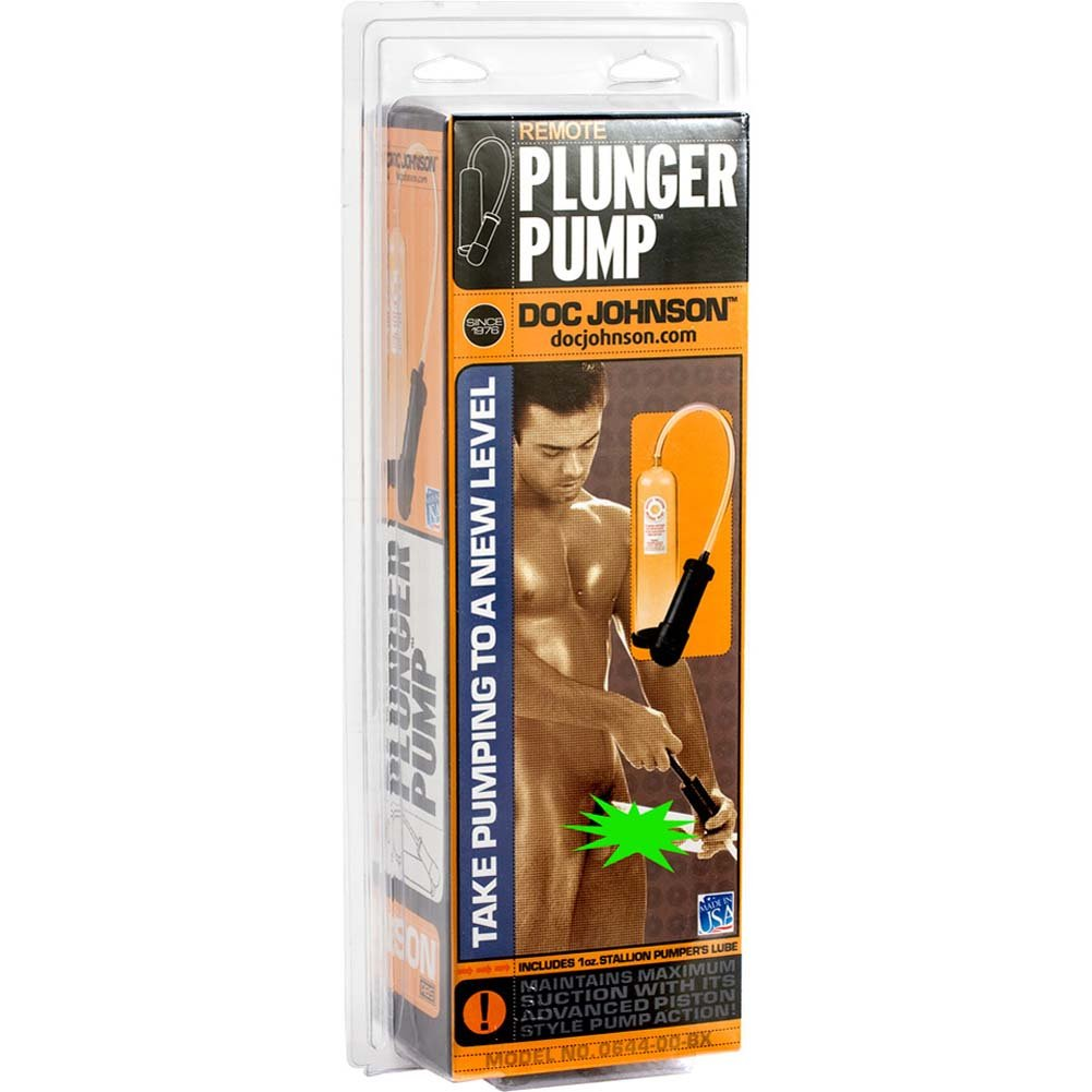 Remote Plunger Pump with Calibrated Cylinder Clear - View #2