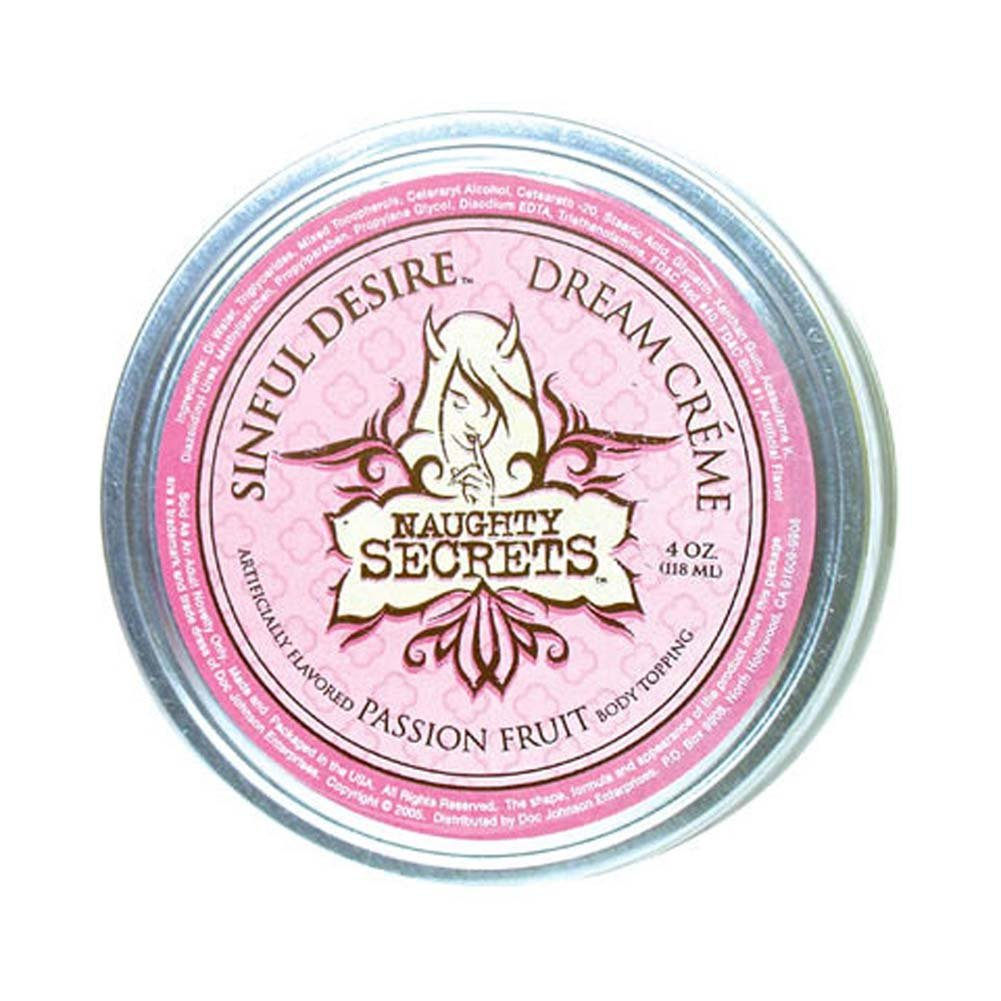 Naughty Secrets Sinful Desire Dream Cream Passion Fruit 4 Oz - View #2