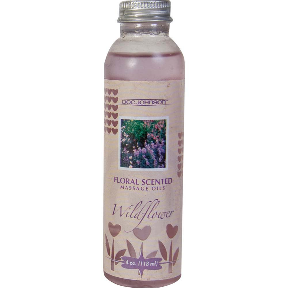 Floral Scented Massage Oil Wildflower 4 Fl. Oz. - View #2