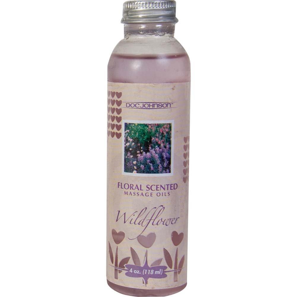 Floral Scented Massage Oil Wildflower 4 Fl. Oz. - View #2