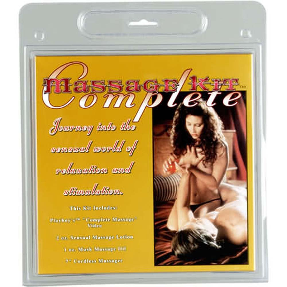 Complete Massage Kit with Playboy Video - View #1