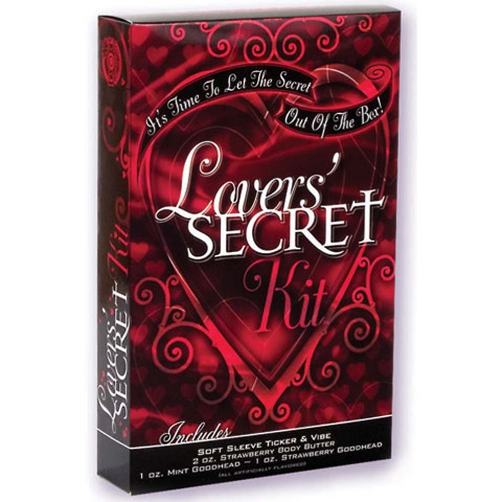 Lovers Secret Kit with Vibe 7 In. - View #1