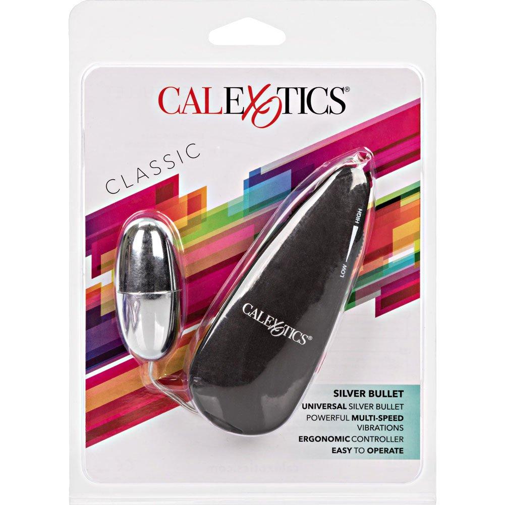 """CalExotics Silver Bullet Vibrator 2.25"""" Black Controller - View #4"""