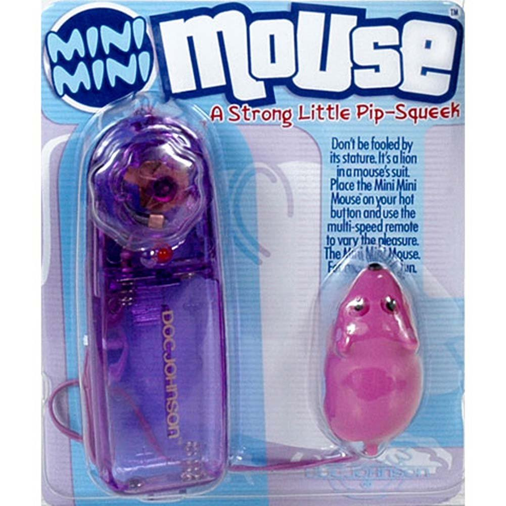 "Mini Mini Mouse Vibrating Bullet 1.75"" Purple - View #3"