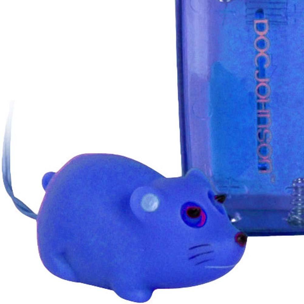 """Mini Mini Mouse Vibrating Bullet 1.75"""" Blue. - View #2"""