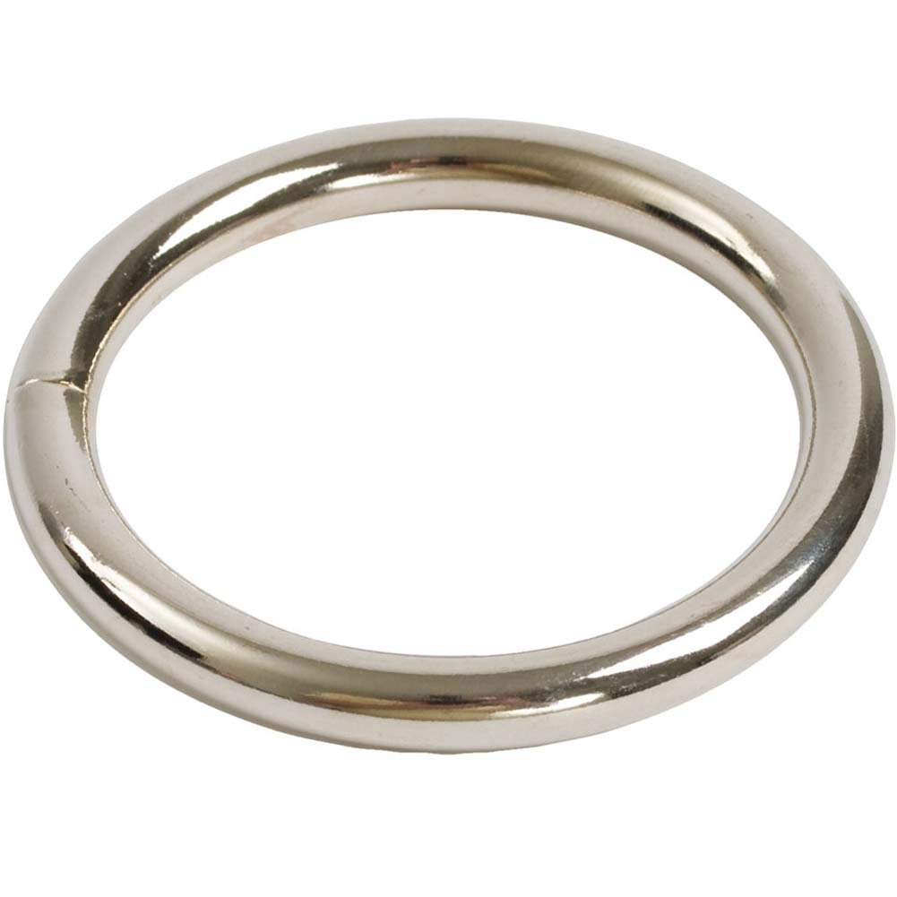 "Nickel Plated Adornment Cockring 1.75"" - View #1"