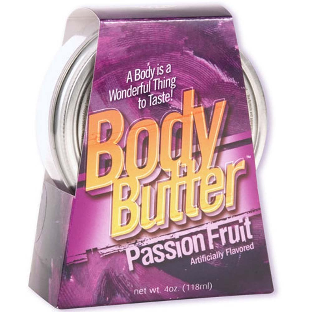 Body Butter Passion Fruit 4 Oz. - View #1