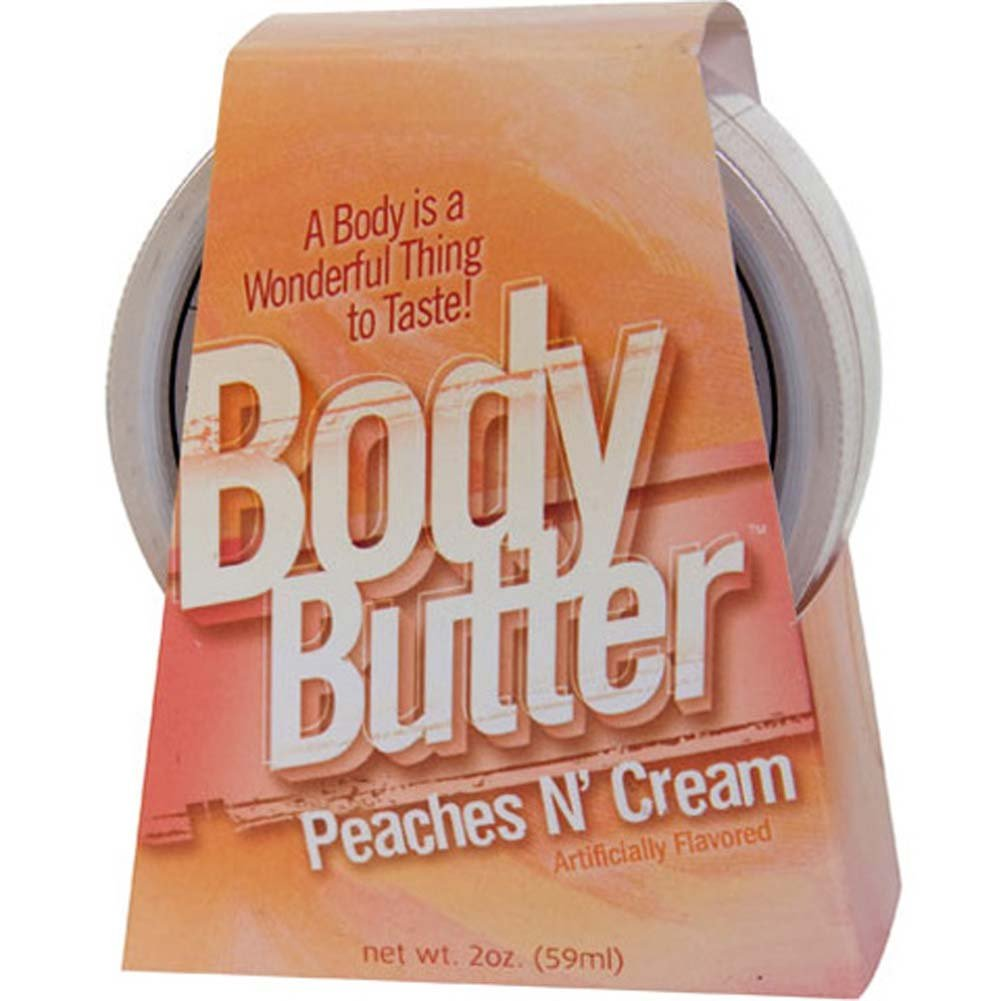Body Butter Peaches N Cream 2 Fl. Oz. - View #1