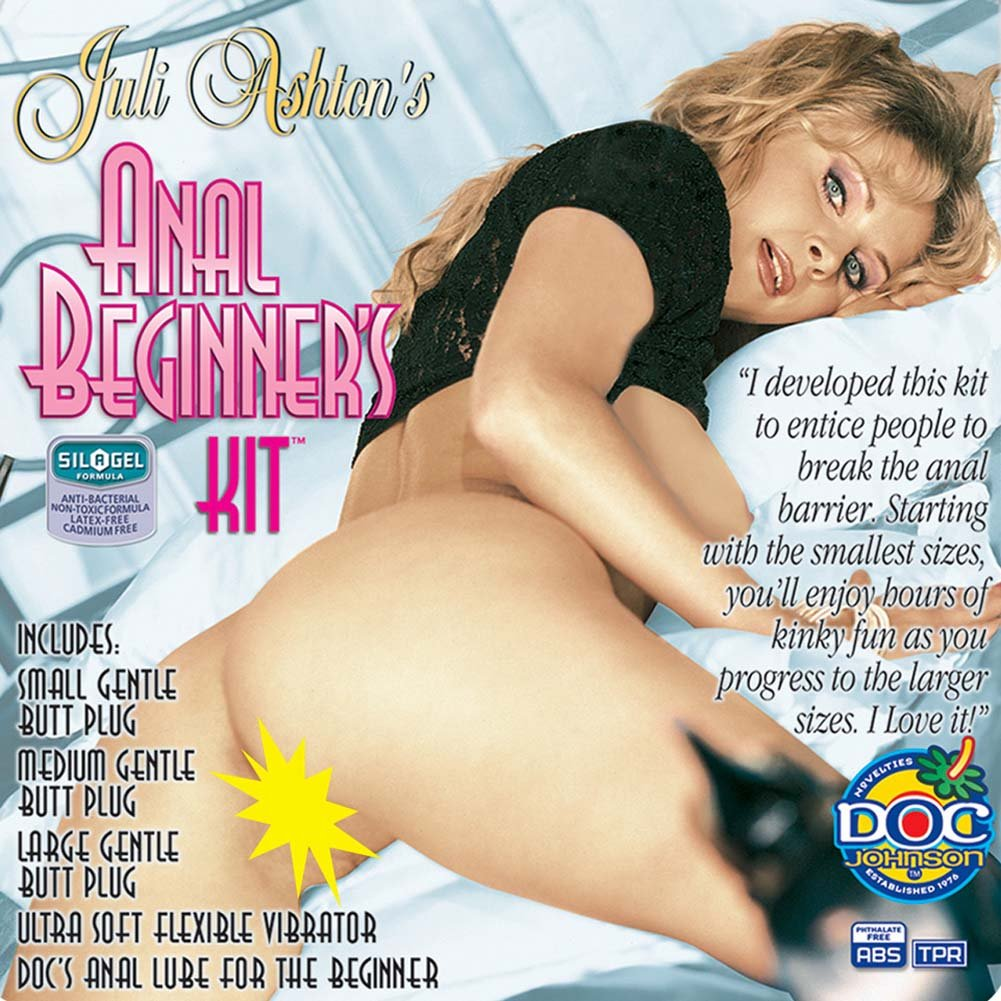 "Juli Ashton Anal Beginners Kit with Vibrator 8.75"" - View #4"