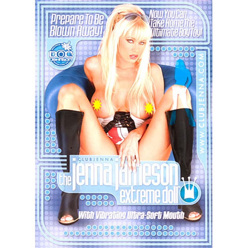 Jenna Jameson Extreme Love Doll with Vibrating Mouth - View #1