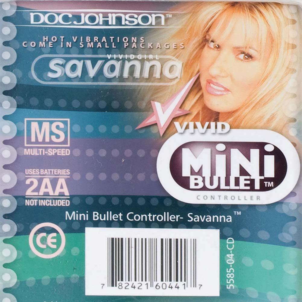 "Vivid Mini Bullet Vibrator by Savanna 1.5"" Pink - View #3"