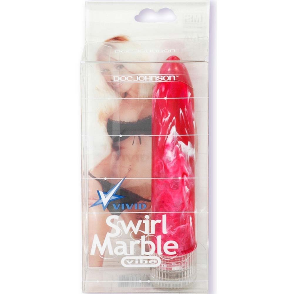 "Vivid Swirl Marble Vibe Tawny Roberts 5.25"" Pink - View #2"