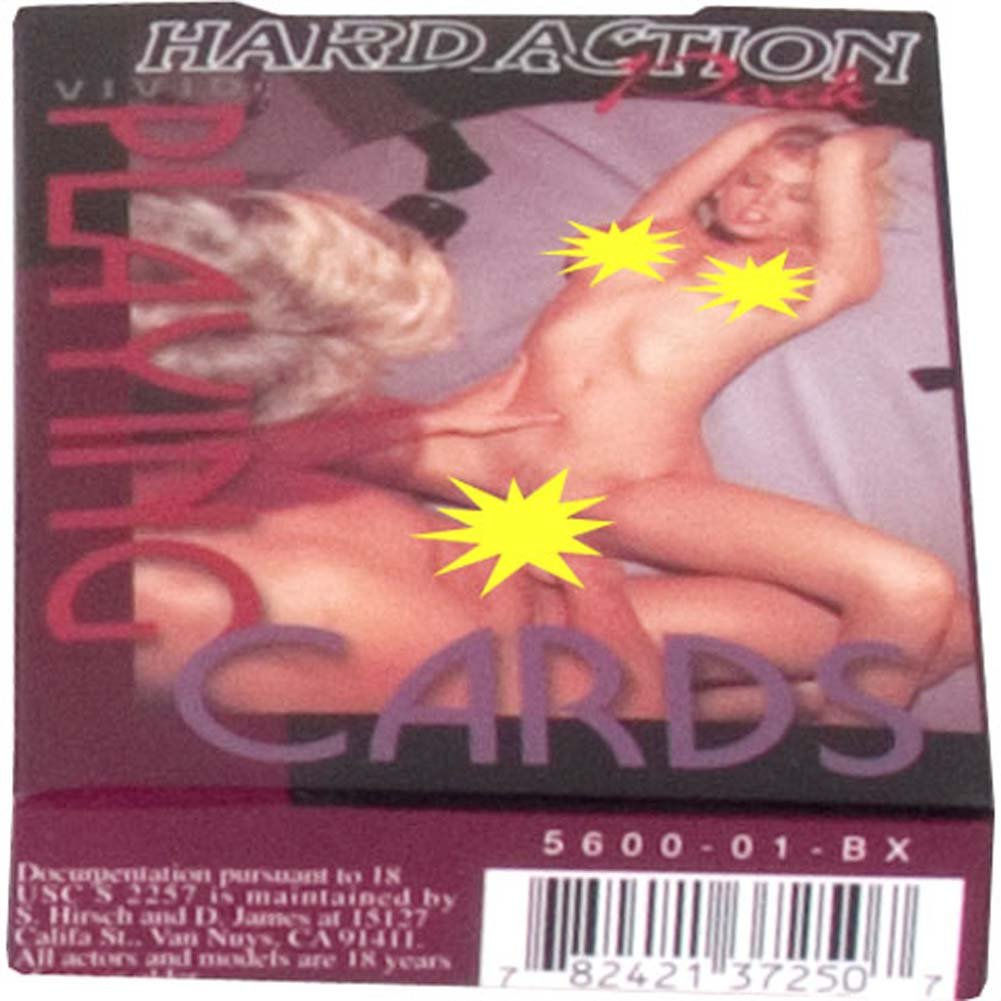 Vivid Hard Action Playing Cards - View #1