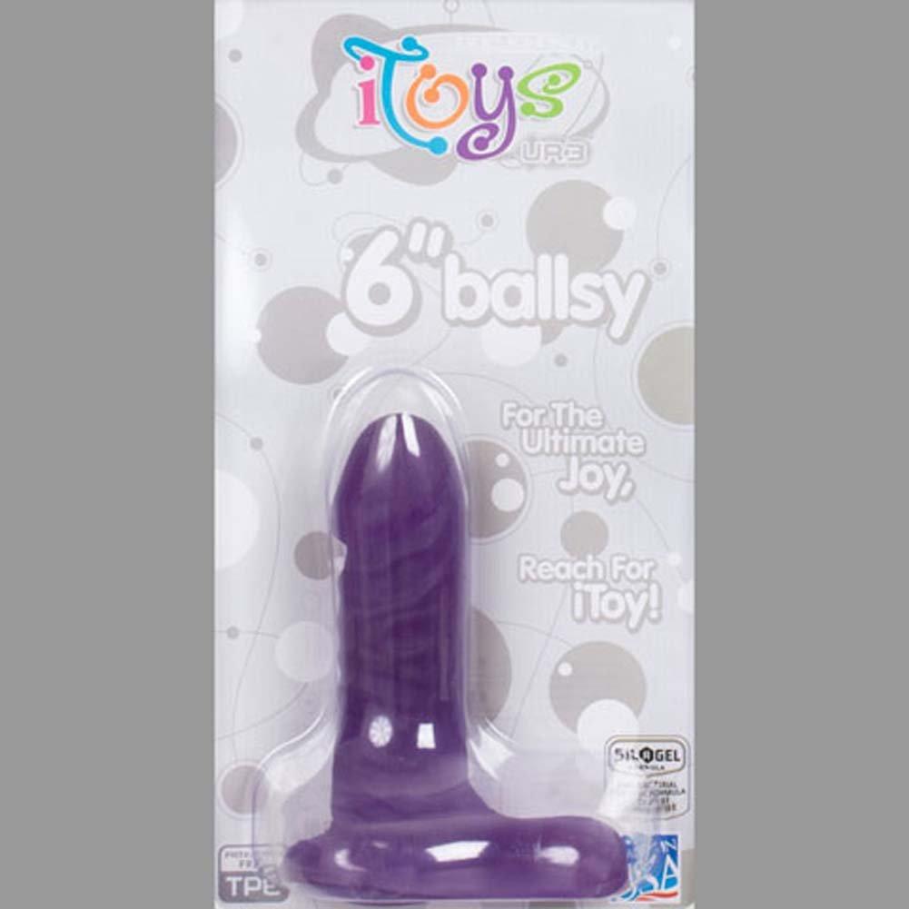 "iToys 6"" UR3 Ballsy Dong Grape - View #2"