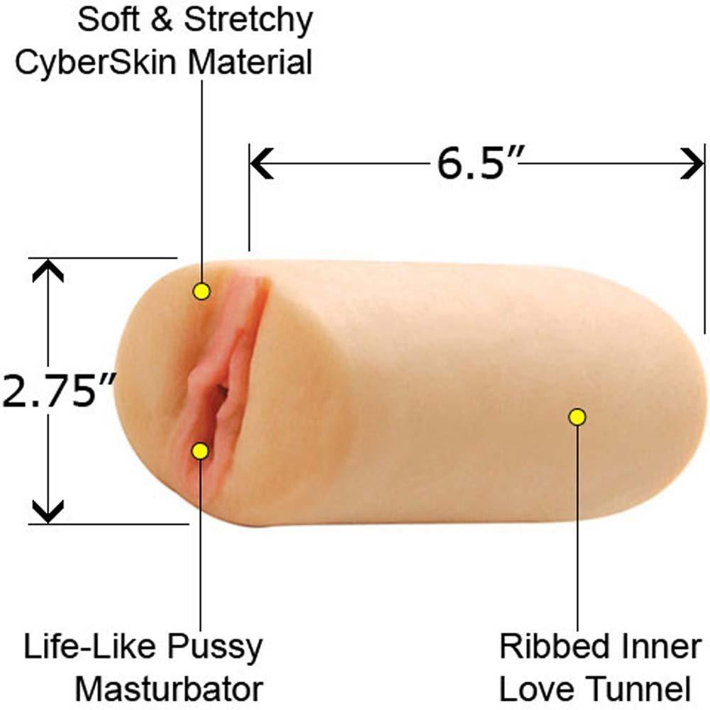 Cassia Riley CyberSkin Pussy Stroker Masturbator Natural - View #1