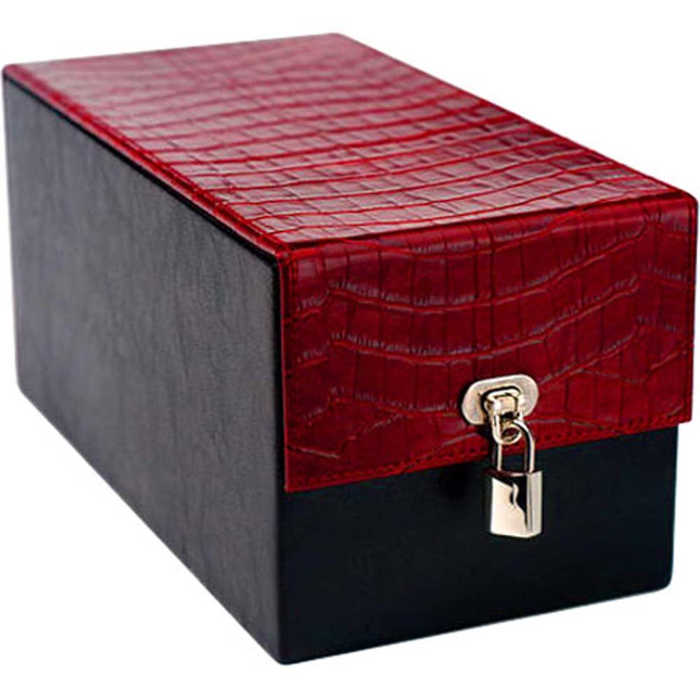 Devine Toy Box Red Croco - View #1