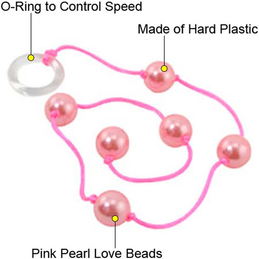 Anal Love Beads 16 Mm Pink Pearl - View #1