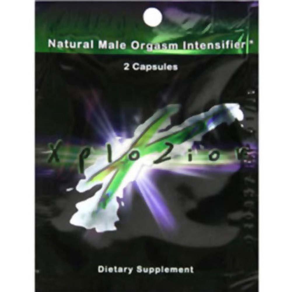 Xplozion Male Sexual Enhancement 2 Capsules Pack Pouch - View #1