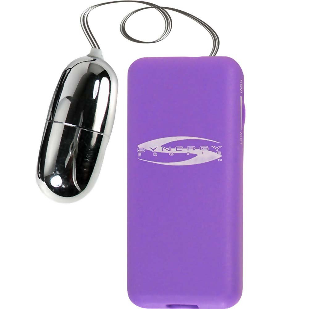 """Synergy Perfect Touch Mega Bullet Vibrator 2.5"""" Lavender - View #2"""