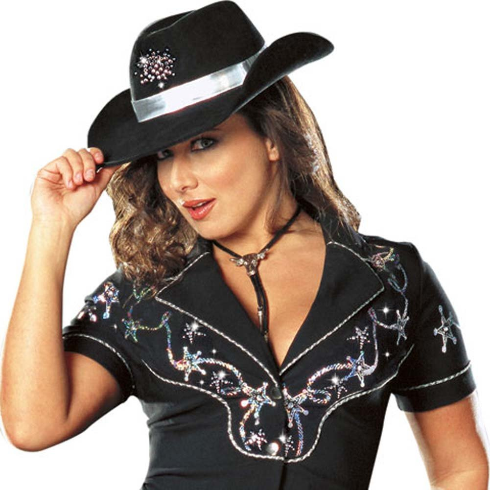 Rhinestone Cowgirl Costume Plus Size 1X/2X - View #3
