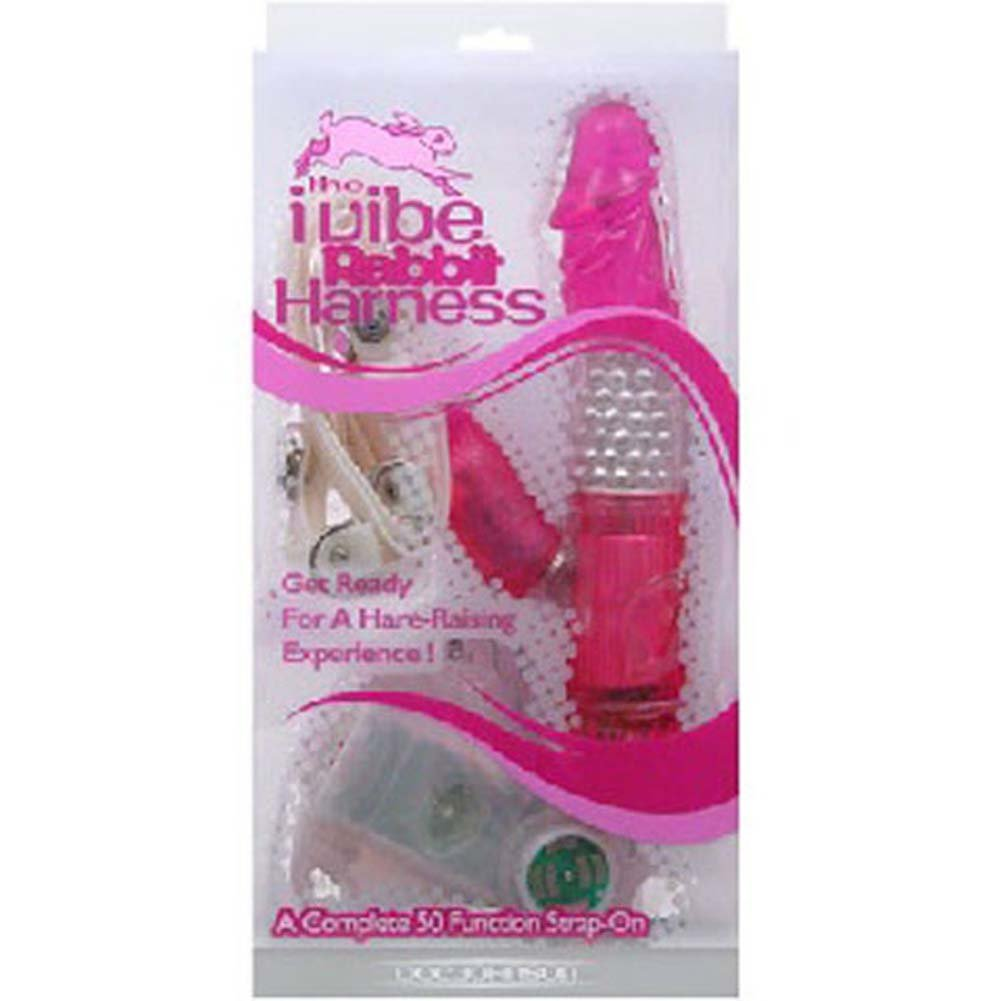 iVibe Rabbit Harness Jelly Vibrator 7.75 In. - View #3