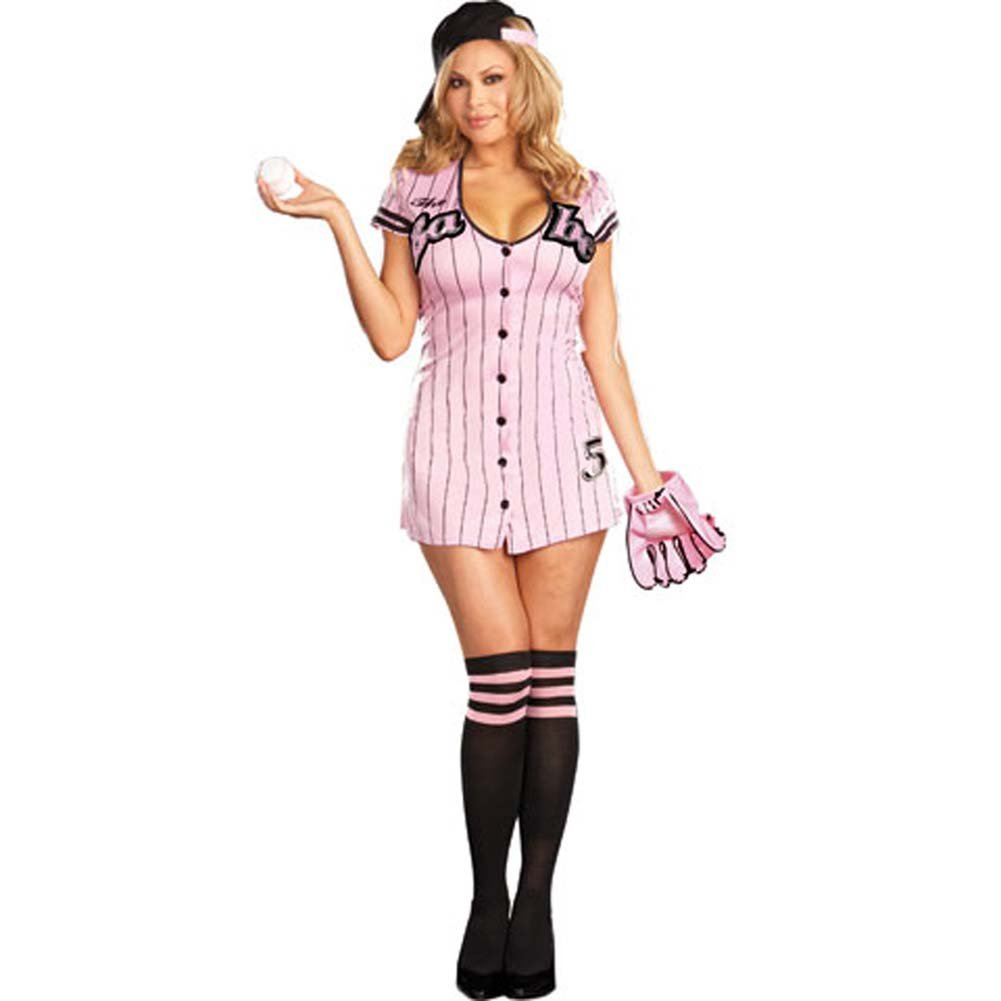 The Babe Costume Plus Size 1X/2X - View #2
