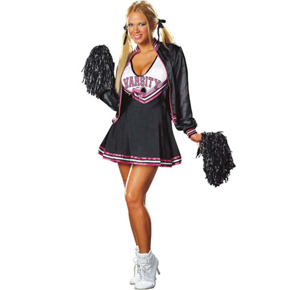 Varsity Cheerleader Costume Small Size - View #2