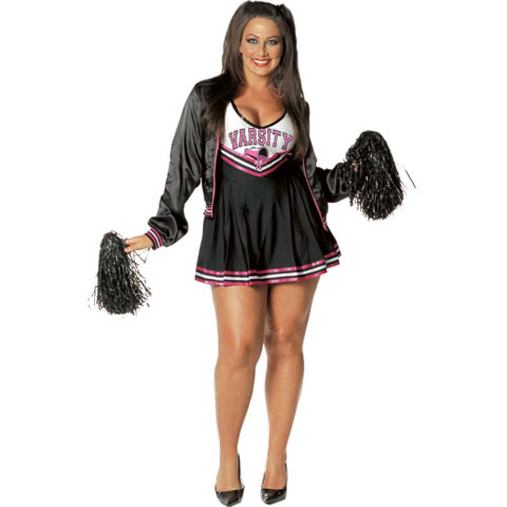 Varsity Cheerleader Costume Plus Size 1X/2X - View #2