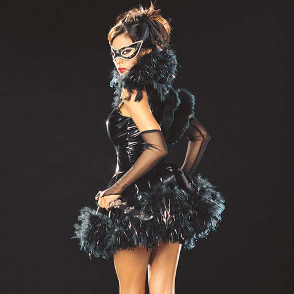 Raven Maven Costume Small Size - View #2