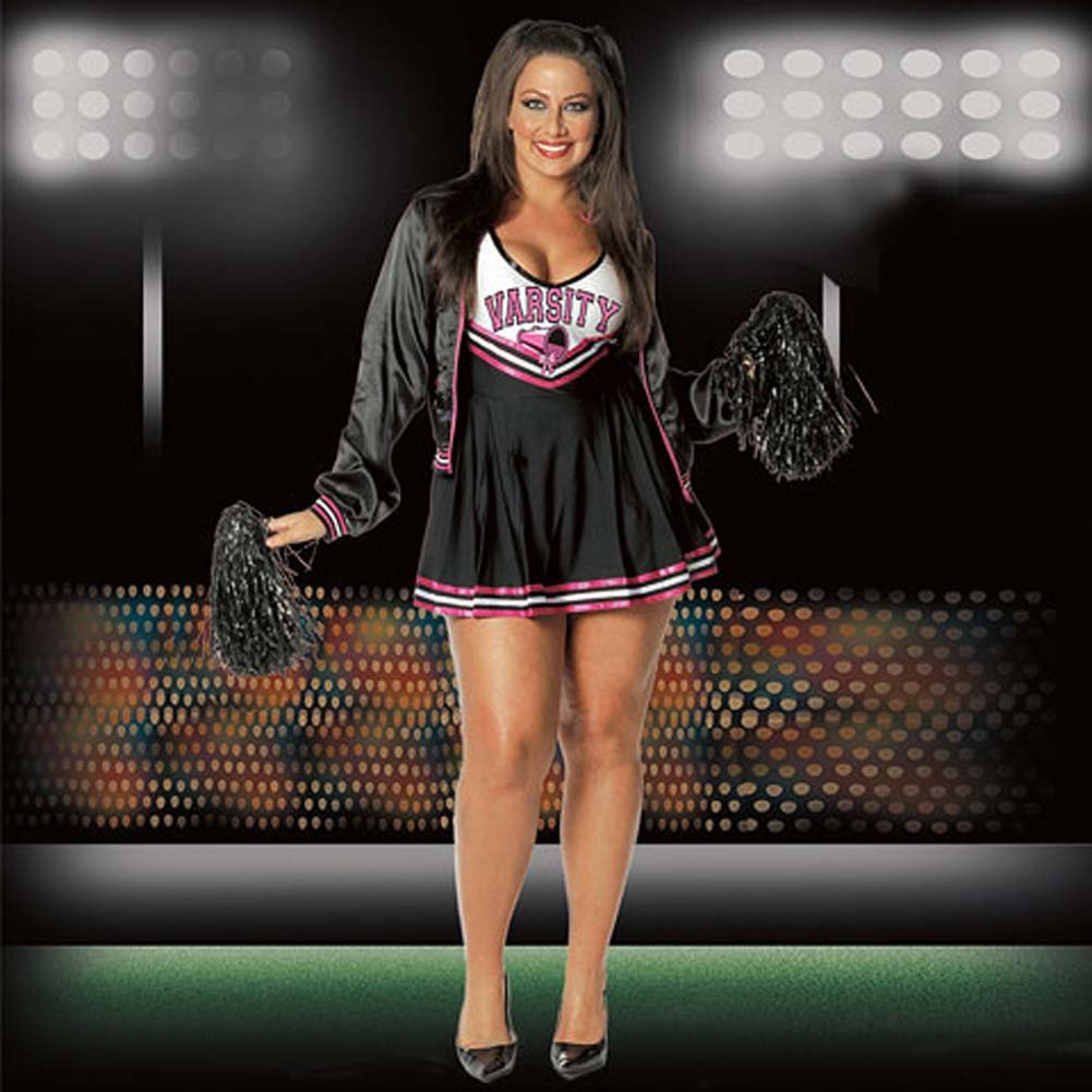 Varsity Cheerleader Costume Plus Size 3X/4X - View #1