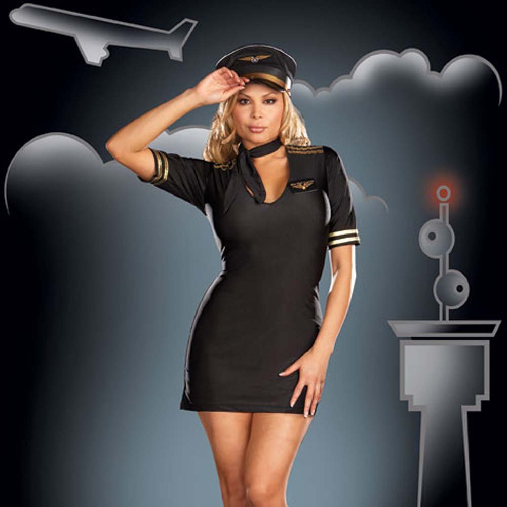 Mile High Captain Black Plus Size 3X/4X - View #1