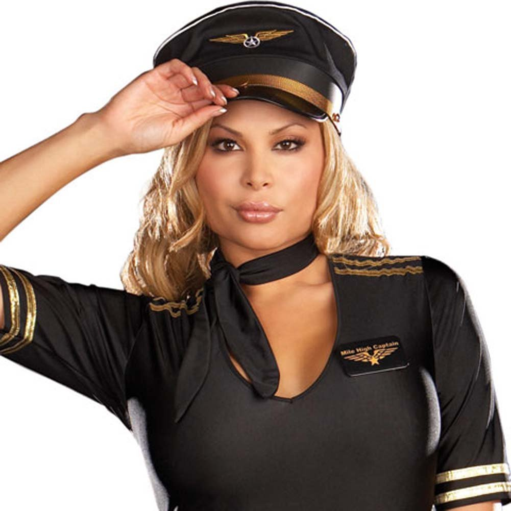 Mile High Captain Black Plus Size 3X/4X - View #3