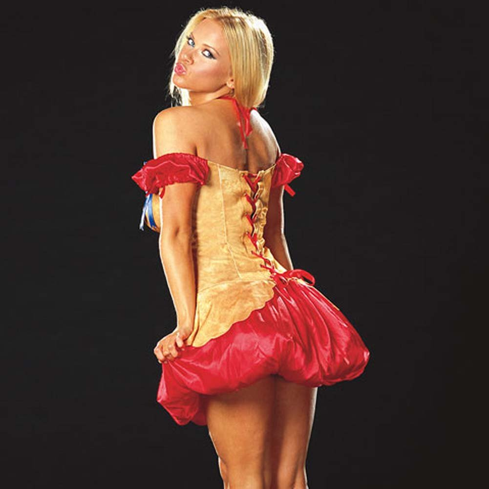 Hot Cherry Pie Costume Medium Size - View #2