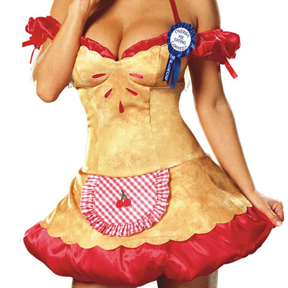 Hot Cherry Pie Costume Medium Size - View #4