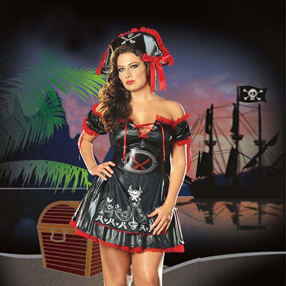 Captain Jackie Costume Plus Size 1X/2X - View #1