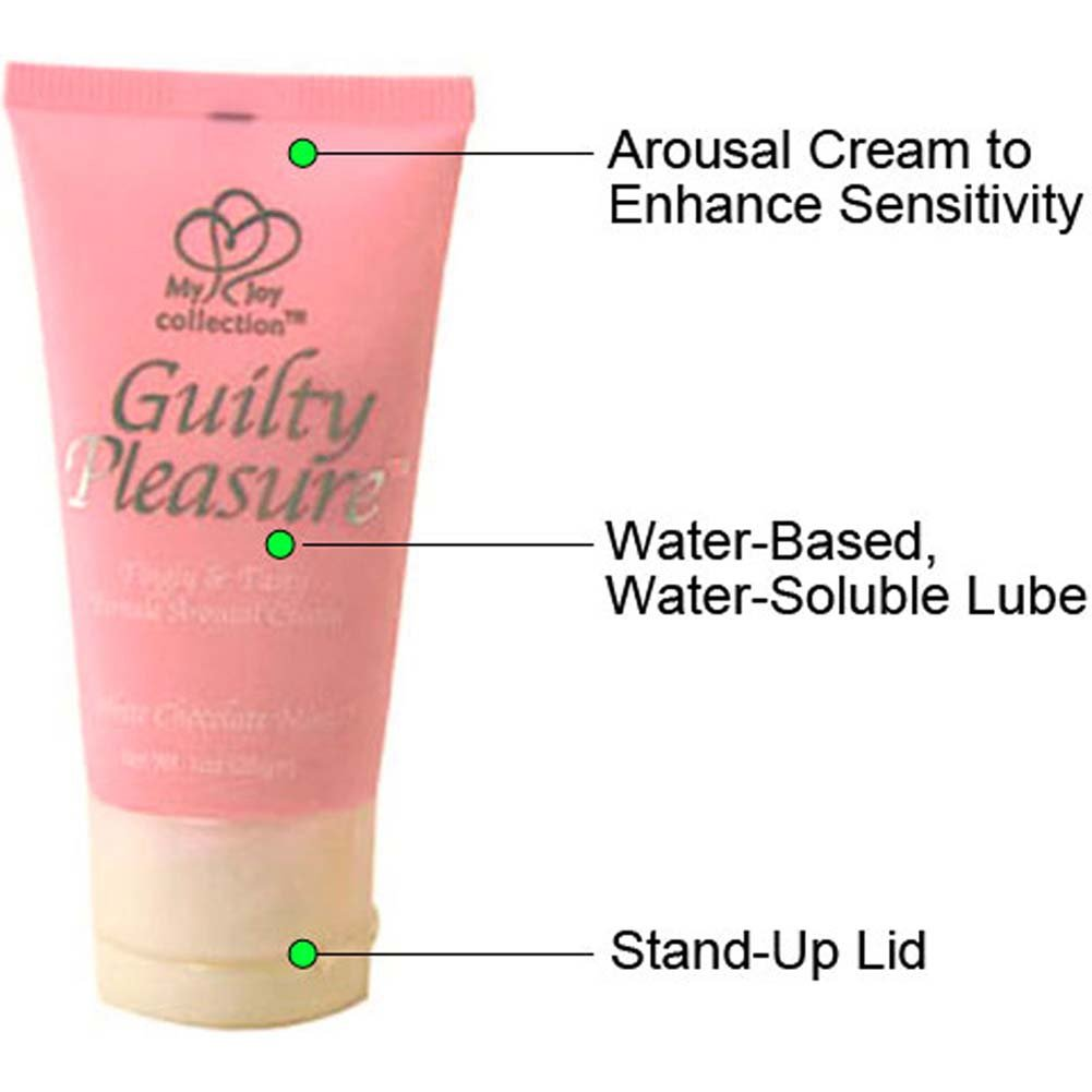 Guilty Pleasure Female Arousal Cream 1 Fl.Oz White Chocolate Mint - View #1