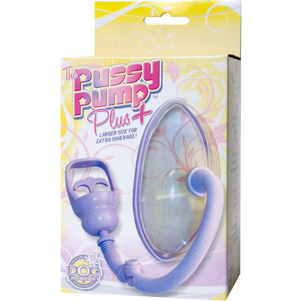 Doc Johnson Pussy Pump Plus Purple - View #4