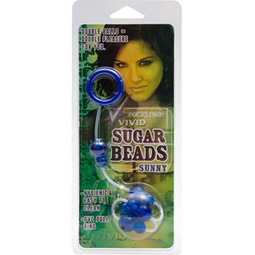 "Vivid Sugar Beads Sunny 13.5"" Blue - View #3"