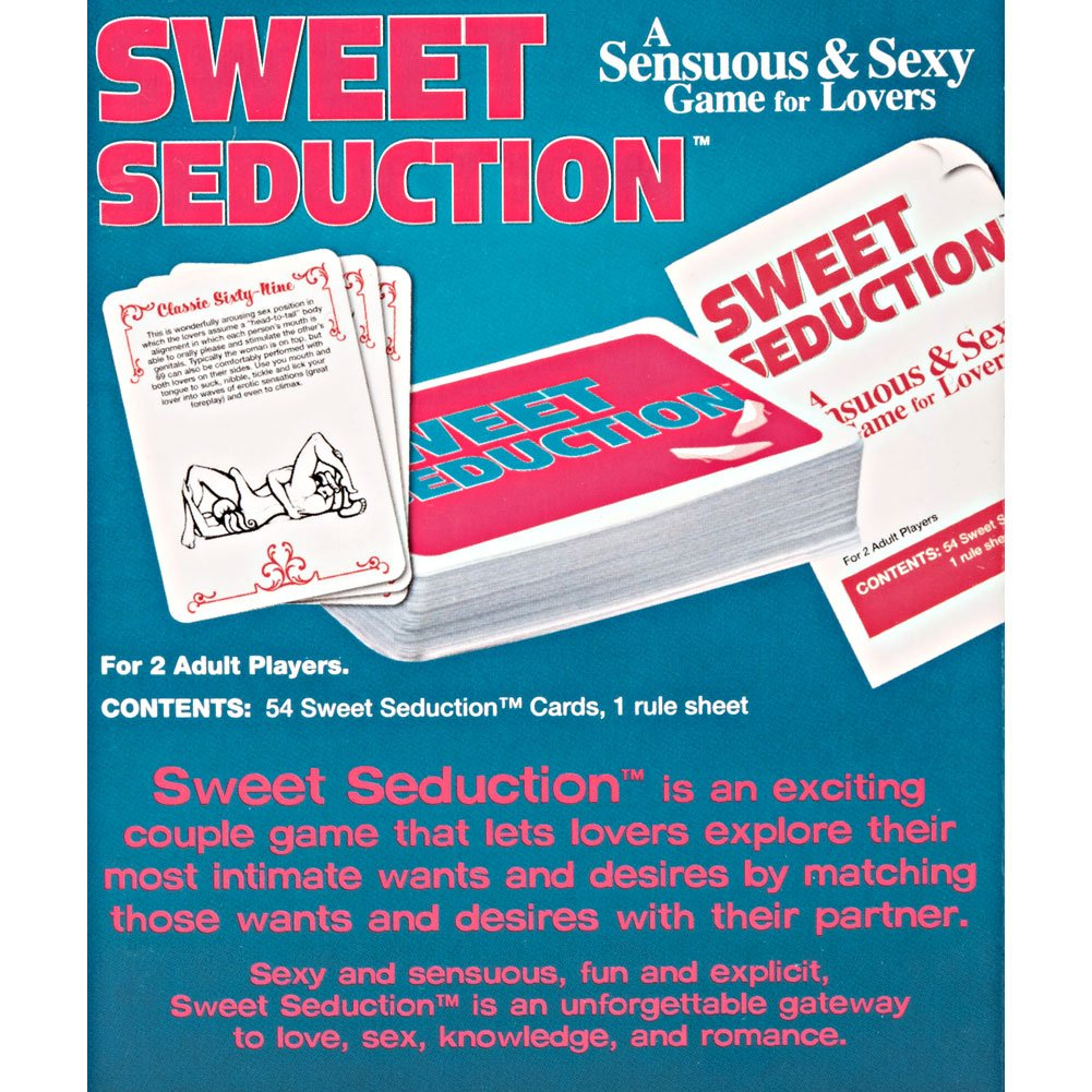 CalExotics Sweet Seduction Sensuous Card Game - View #1