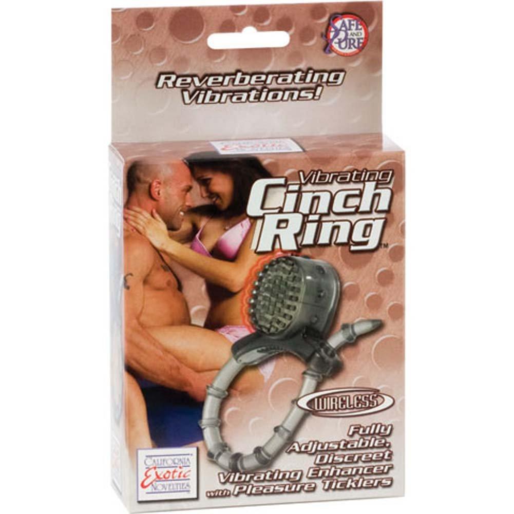Vibrating Wireless Cinch Ring Smoke - View #3