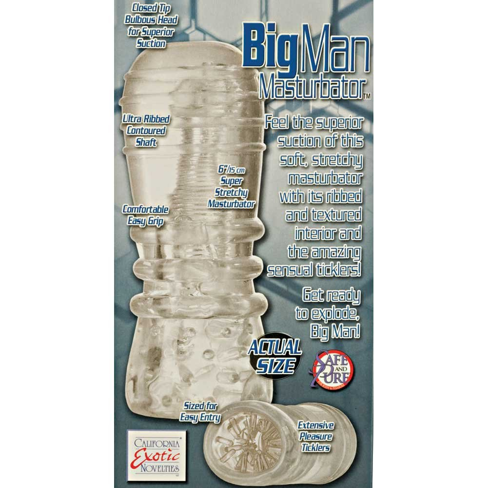 Big Man Masturbator Clear - View #1