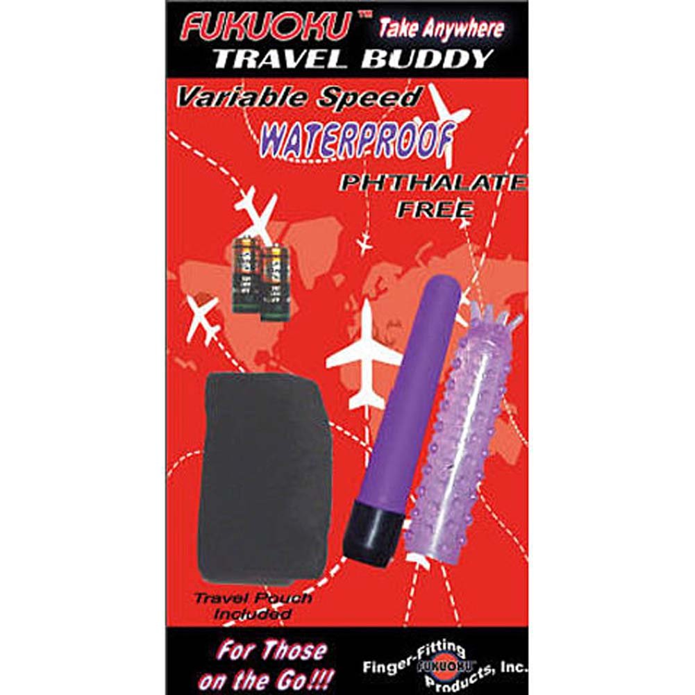 Fukuoku Travel Buddy Waterproof Mini Vibe with Purple Sleeve - View #2