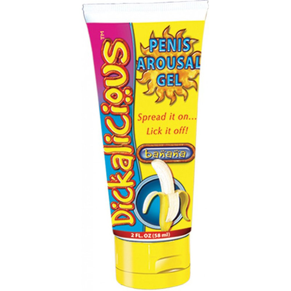 Dickalicious Penis Arousal Gel 2 Fl.Oz 58 mL Banana - View #1