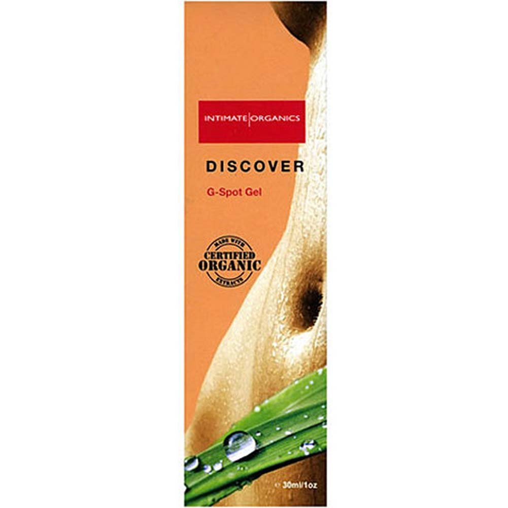 Intimate Organics Discover G-Spot Gel 1 Fl. Oz. - View #1