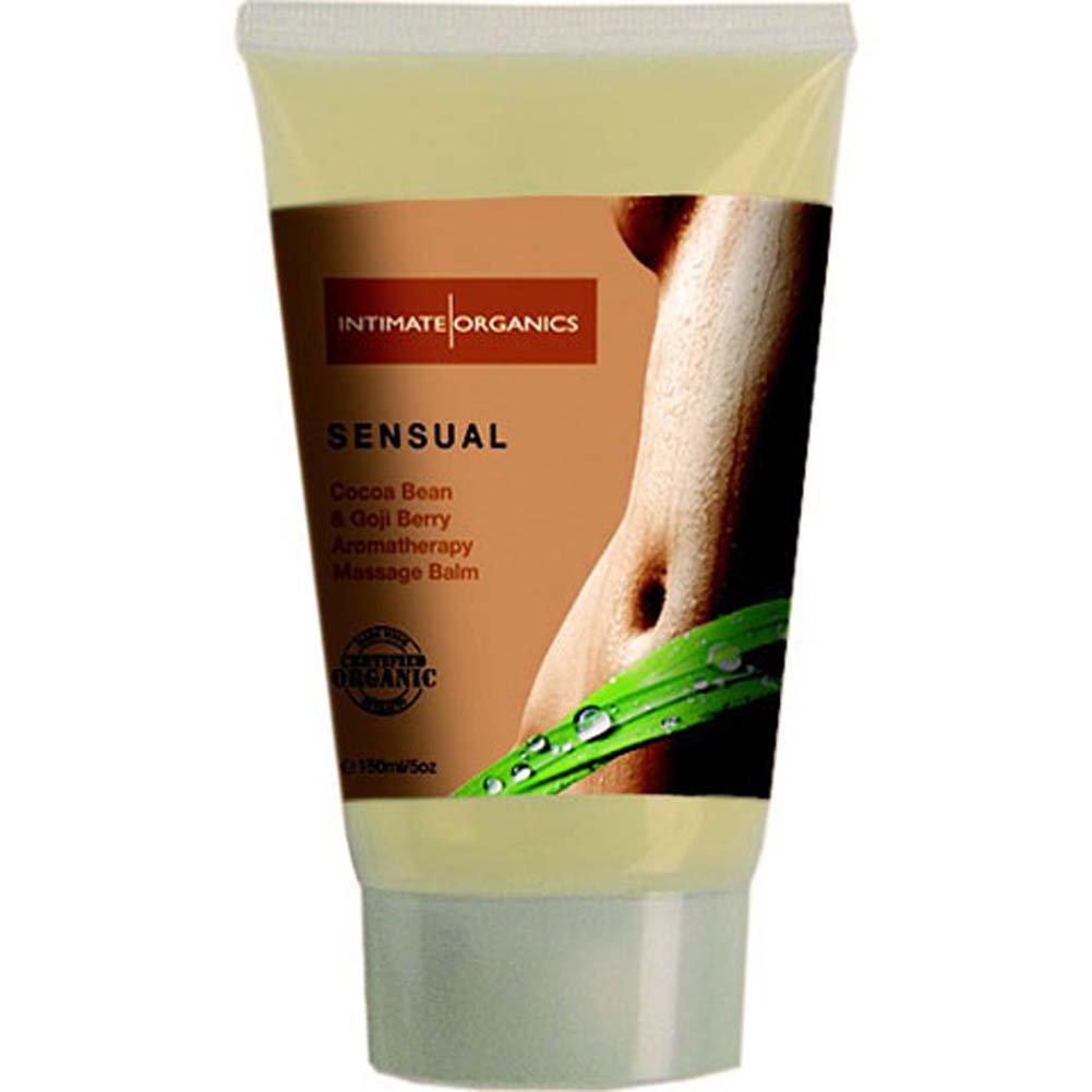 Intimate Organics Massage Balm Sensual Cocoa Bean Goji Berry - View #1
