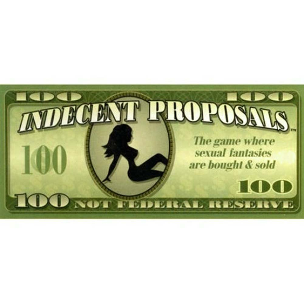 Indecent Proposals Board Game - View #1