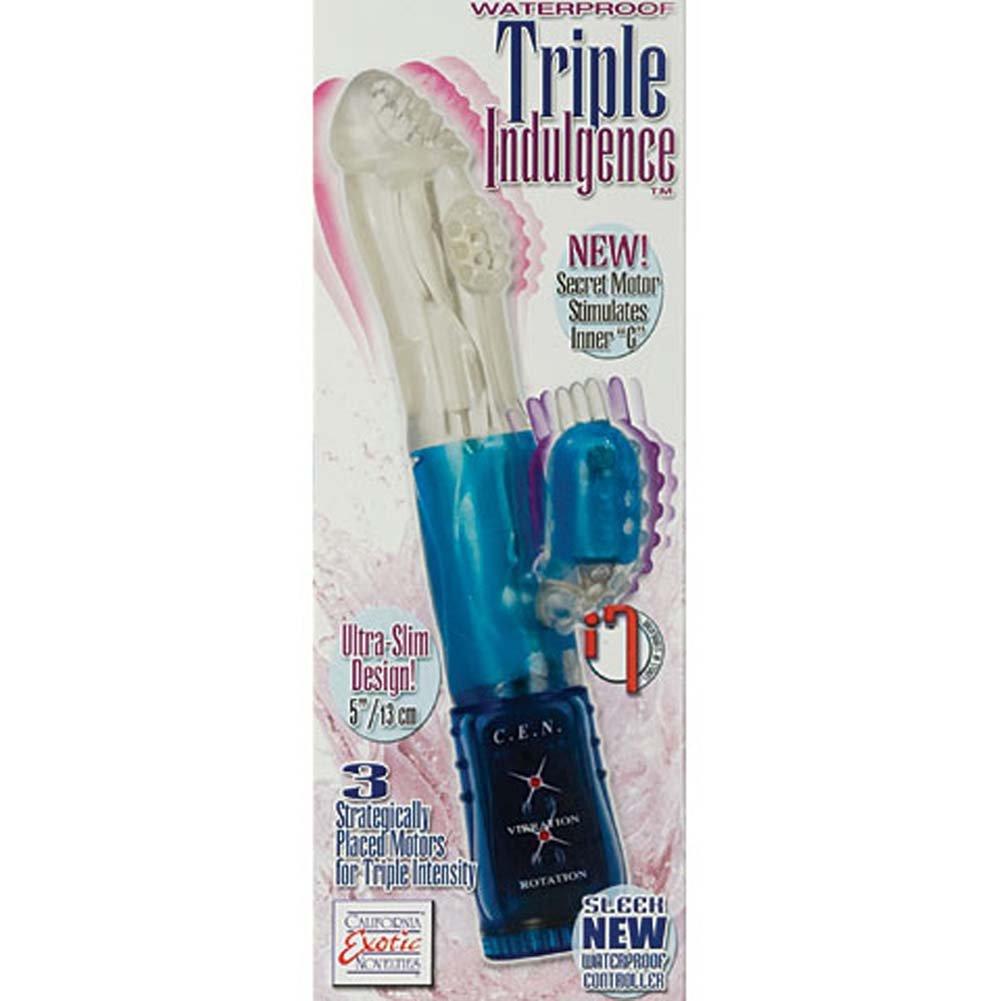 Triple Indulgence Waterproof Vibe 9 In. - View #4