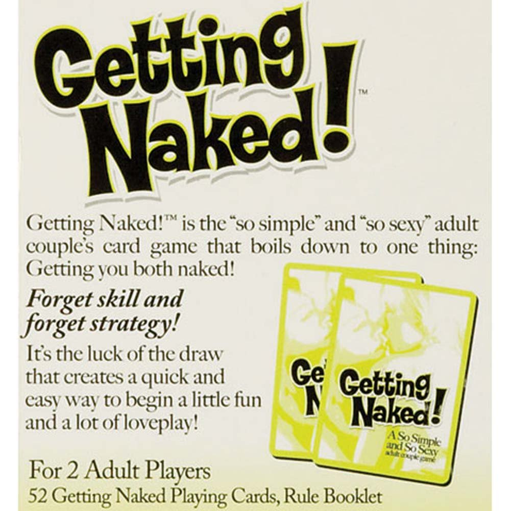 Calfornia Exotics Getting Naked Game - View #1