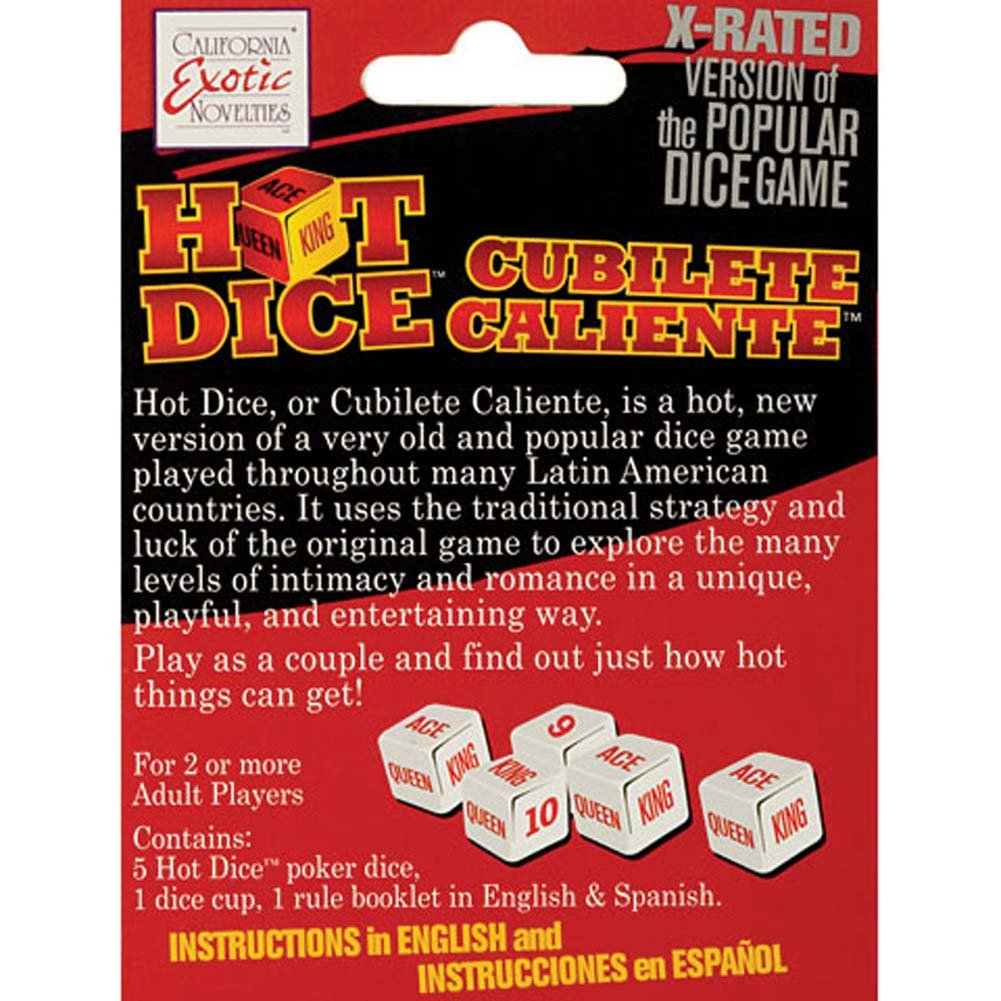 Hot Dice Game - View #3